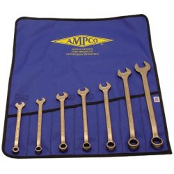 Ampco Safety Tools - 065-M-41 - 7 Piece Combination Wrench Sets (Pack of 1)