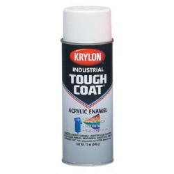 Krylon - A01800 - Tough Coat Osha White Acrylic Enamel