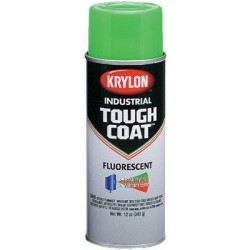 Krylon - A01811 - 16-oz. Fluorescent Orange Tough Coat