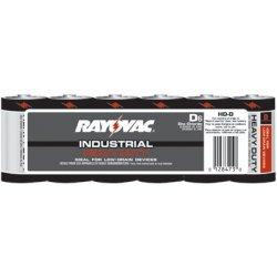 Rayovac - 620-HD-DA - Heavy Duty Shrink Pack Batteries (Pack of 6)