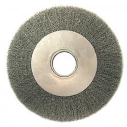 """Anderson Brush - 066-01264 - Da7 7"""" .014 Crimped Wirewheel Brush W/2""""dia. Ar, Ea"""
