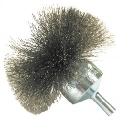 "Anderson Brush - 066-05711 - Nf10 1""x.008 End Brush Carbon Circular Fl, Ea"