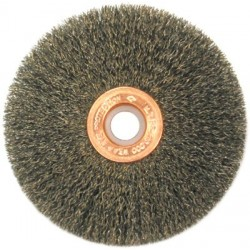 Anderson Brush - 066-09393 - Small Diameter Wire Wheels-SS Series-Single Sections (Case of 10)