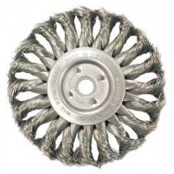 Anderson Brush - 066-13573 - Medium Face Standard Twist Knot Wire Wheels-TS and TSX Series (Case of 5)