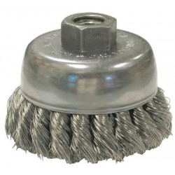 Anderson Brush - 066-17165 - Knot Wire Cup Brushes For Small Angle Grinders-US and USC Series (Each)