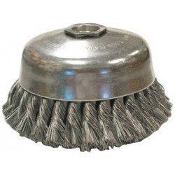 Anderson Brush - 066-17325 - Knot Wire Cup Brushes-Single Row-US Series (Each)
