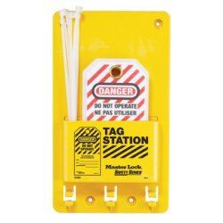 Master Lock - 470-S1601AX - Safety Series Compact Tag Stations (Each)