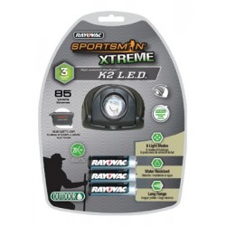 Rayovac - 5011158691 - Sportsman Xtreme LED Flashlights (Each)