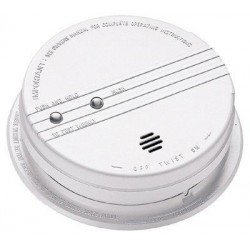 Kidde Fire and Safety - 2100-6376 - 2100-6376, i12060 smoke detector, 120 vac with Front Load Battery Door and Hush