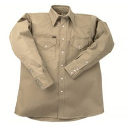 Lapco - 160-LS-16-L - 950 Heavy-Weight Khaki Shirts (Each)