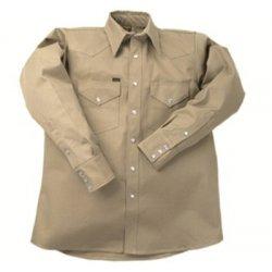 Lapco - 160-LS-17-L - 950 Heavy-Weight Khaki Shirts (Each)
