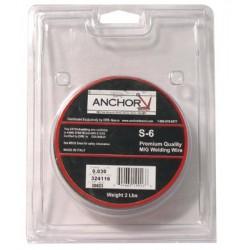 Anchor Brand - 100-ER70S-6-023X2 - Anchor Er70s-6 .023x2 (2# Spool), Ea