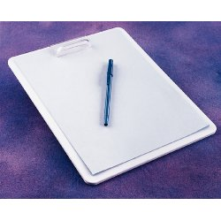 Ak - Ak-1211 - Clipboard Cleanr00m White Pp. (each)