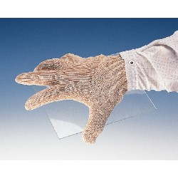 Wells Lamont - 333023 - Uncoated Cut Resistant Glove, ANSI/ISEA Cut Level 5, HPPE Lining, White, M, EA 1