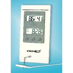 VWR - 35519-048-EACH - VWR Digital Humidity/Temperature Monitor with Probe Humidity/Temperature Meter (Each)
