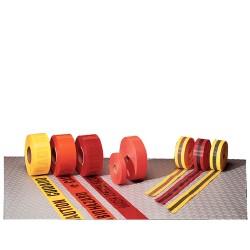 National Marker - Bt7rb - Tape Barrier Red/blk 2inx50yds. (each)