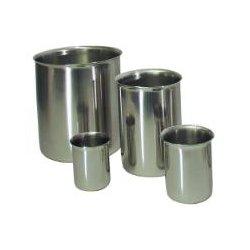 VWR - 414004-085-CASEOF300-EA - VWR Beakers, Low Form, Stainless Steel Beaker (Case of 300 (EA))