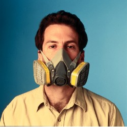 3M - 6300DD - UPC 5-00-51138-66374-7 Half Facepiece Reusable Respirator Drop Down, Respiratory Protection, Large 24/cs