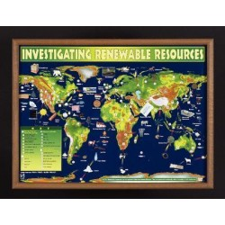 American Educational Products - 2566 - Chart Investigating Renewable Resources (each)