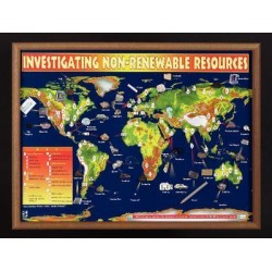 American Educational Products - 2565 - Chart Investigating Non-renewable Res (each)