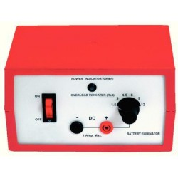 Eisco Scientific - PH0971A - Eisco Labs Battery Eliminator, 1A Max - 1.5, 3, 4.5, 6, 9, or 12V