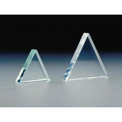 AbrisaTechnologies - 1065-13087 - Prisms Prisms, Glass Equilateral Prism, 75mm, 9mm thick (Each)