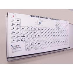 Mercury Print - 9630500 - Ward's Chemistry Heavy Duty Roller Periodic Table Ward's Chemistry Heavy Duty Roller Periodic Table (Each)