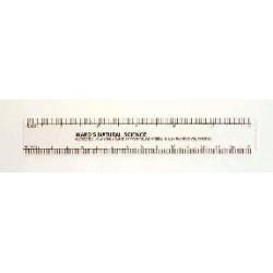 Acme United - Z2-14-0810 - WARD'S 6 White Ruler 6 White Ruler (Each)
