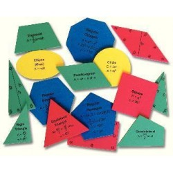 Matrix Scientific - 3112 - K-12 GEOMETRIC SHAPES (Each)