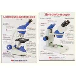Imagen - 4652201 - Poster Microscope Dble Sided Boreal2 (each)