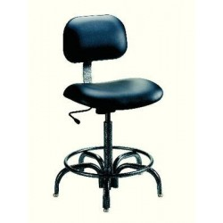 Biofit - 4723400 - Chair Uphlstrd Black Vinyl Seat Blk Base (each)