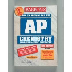 Barrons Educational Series - 764136852 - BOOK AP CHEMISTRY 3RD ED. (JESPERSEN) (Each)