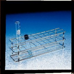 Accurate Wirecraft - 220200zn-each - Rack Test Tube. Steel Twenty 22 Mm (each)
