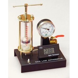 Lab Connections - 324-15 - Gas Law with Temperature Gauge Gas Law with Temperature Gauge (Each)