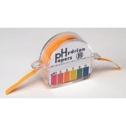 Micro Essential Lab - 150 - Ph Paper Hydrion A&b Dispenser Dbl Rl. (each)