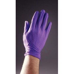 Unimed-midwest - Ksnp026083-boxof100 - Nitrile Glove Purple Bx/100 Lge Pwdfree (box Of 100)