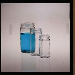 Berlin Packaging - 2084 - Tall Glass Display Jars Tall Glass Display Jars, 8 oz., 58mm Cap (Each)