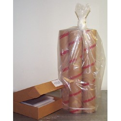 Aargus Plastics - AA3039MB - TRASH BAGS BROWN CS250 (Case of 250)
