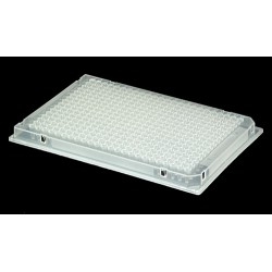 "Axygen Scientific - P-384-240SQ-C - 240ul 384 Deep Well ""Diamond Plate"" with Square We 5/PK"
