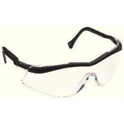 3M - 12100-10000-20 - 3M 12100-10000 Safety Glasses, One Size, Black Frame/Clear Anti-Fog Lens