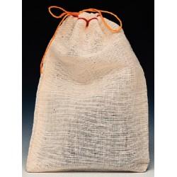 Associated Bag - 29-14 - 6X10 SINGL DRAWSTRNG CLOTH BAG (Case of 500)