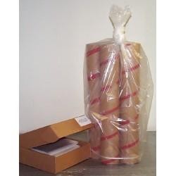 Aargus Plastics - AA4048XHB - BAG BRWN TRASH 40X48 2ML CS100 (Case of 100)