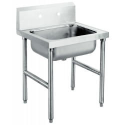 Advance Tabco - 4-OP-18 - MOP SINK 21WX24LX8D (Each)