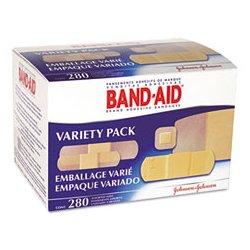 BAND-AID - SCJ4711 - BAND-AID Sheer/Wet Flex Adhesive Bandages (Box of 280)