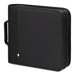 Case Logic - CLGBNB48 - 48-Capacity CD/DVD Binder , Black, 1 EA