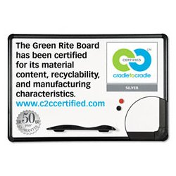 Best-Rite / MooreCo - BLTE2H2PHT1 - Best-Rite Green Rite Dry Erase Board (Each)