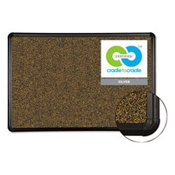 Best-Rite / MooreCo - BLT300PGT1 - Best-Rite Black Splash-Cork Board (Each)