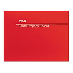 Stirling / IDEAL Industries - DOMM2512 - Ideal Rental Property Record Book (Each)