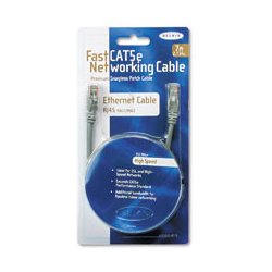 Belkin / Linksys - BLKA3L85050S - Belkin FastCAT 5e No-Snag Patch Cable (Each)