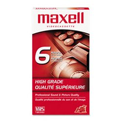 Maxell - MAX224915 - Maxell VHS Video Tape (Each)